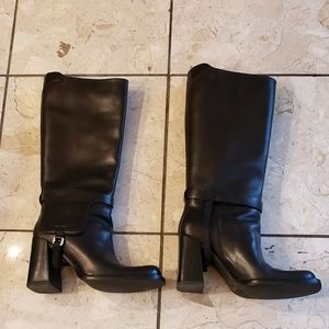 Prada Calzature Donna In Pelle leather boots